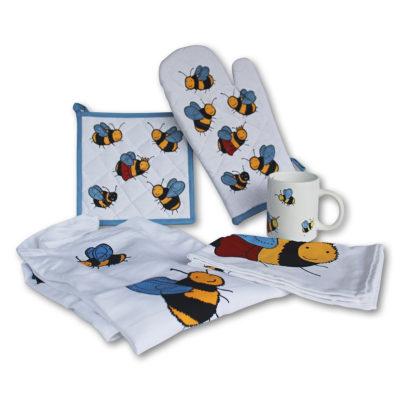Bee Motif Kitchen Wear